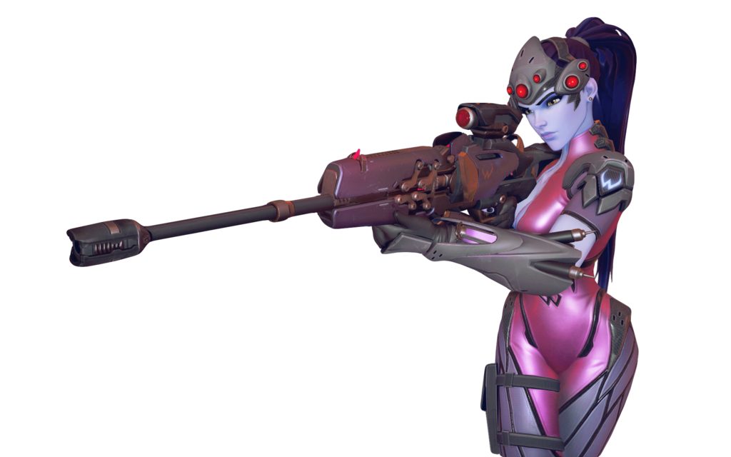 Widowmaker sniping png. Transparency by covano on