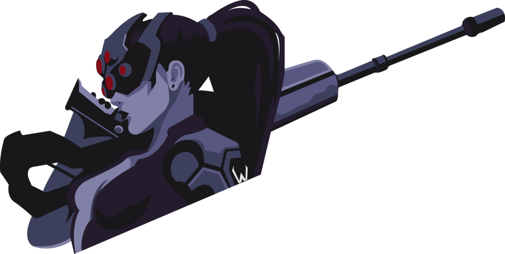 Widowmaker sniping png. Widow spray by bloodyhell