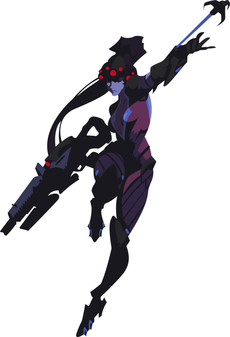 Widowmaker spray png. Full body by bloodyhell