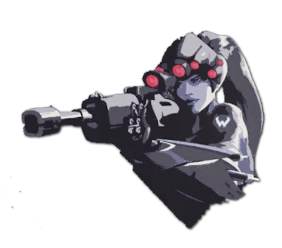 Widowmaker spray png. Image in my sights
