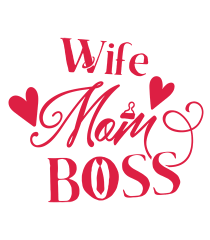 Wife mom boss png