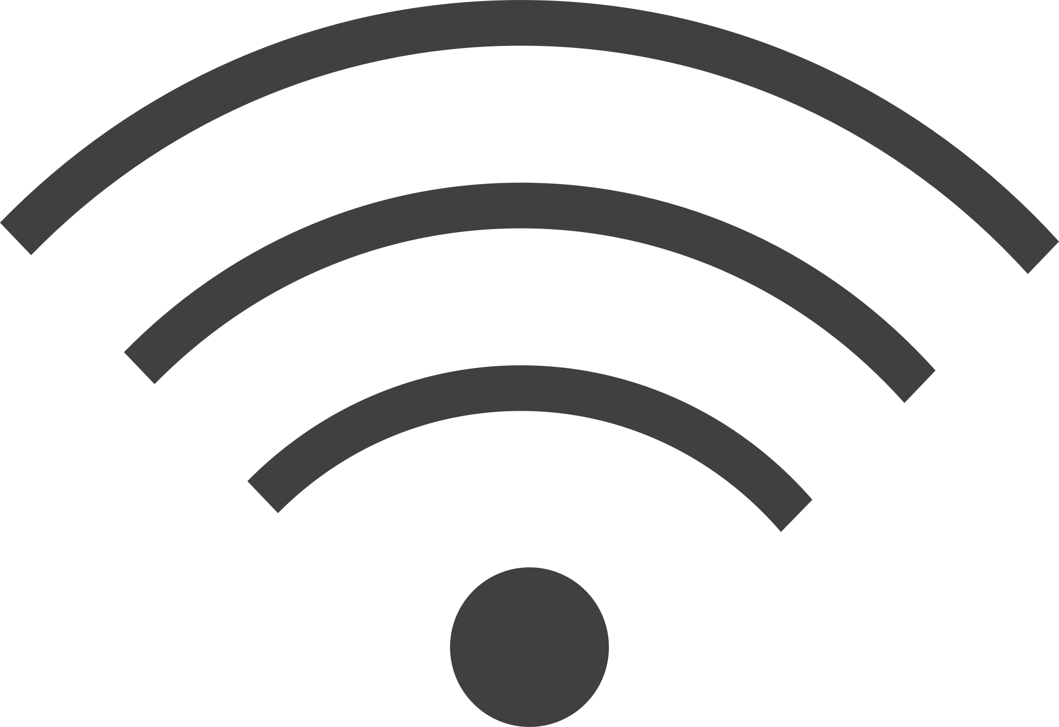 Wifi waves png. Icon black image purepng