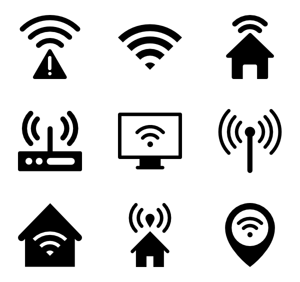 Wifi bars png. Icons free vector wireless