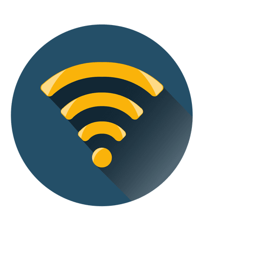 Wifi logo transparent png. Circle icon svg vector
