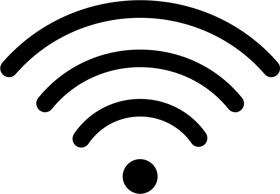 Wifi png icon. Free svg download onlinewebfonts