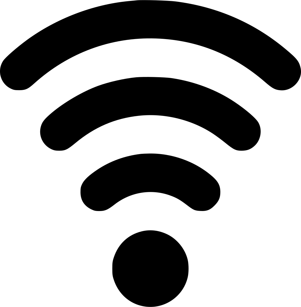 Wifi waves png. Connection signal network svg
