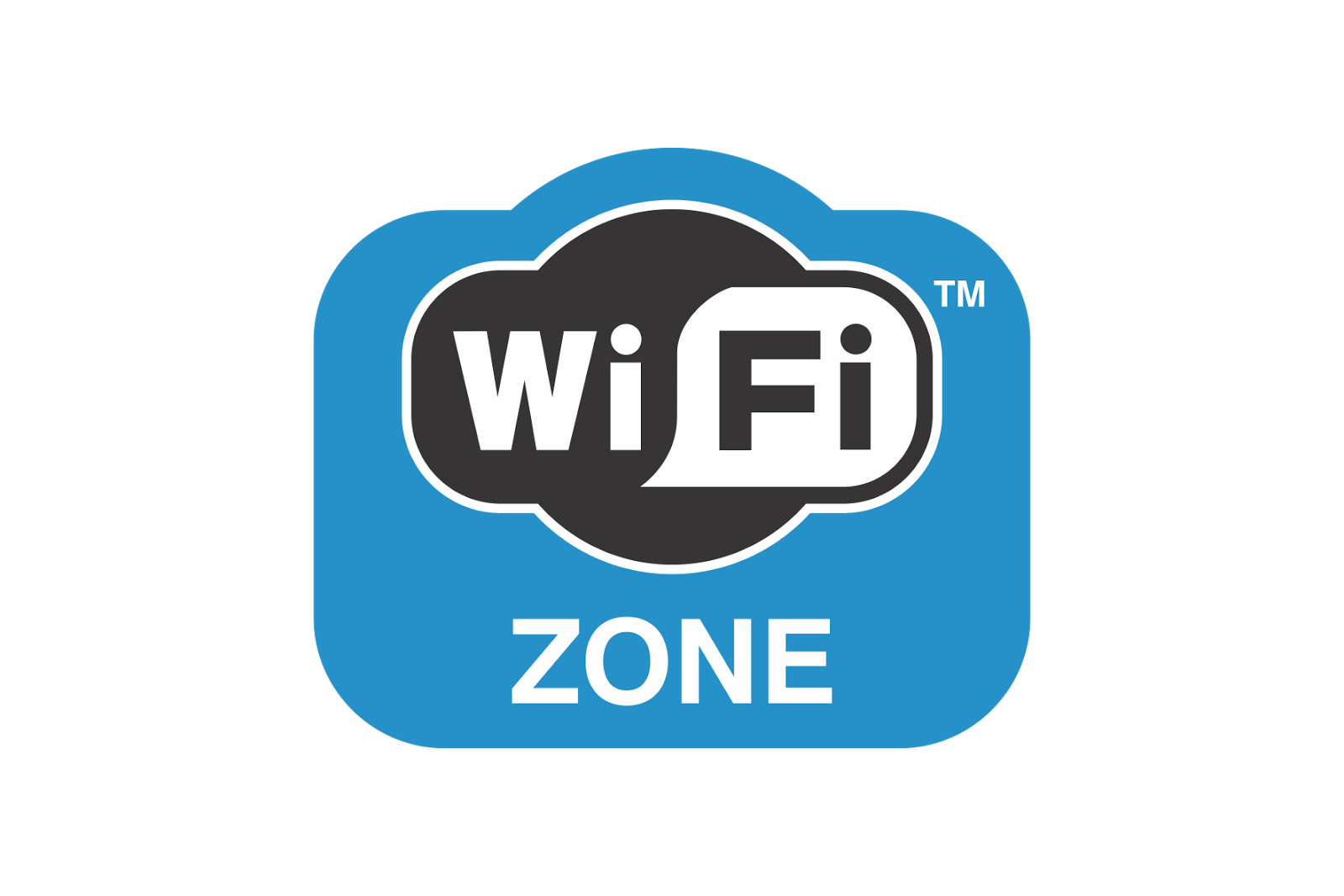 Wifi zone png. Logo vector