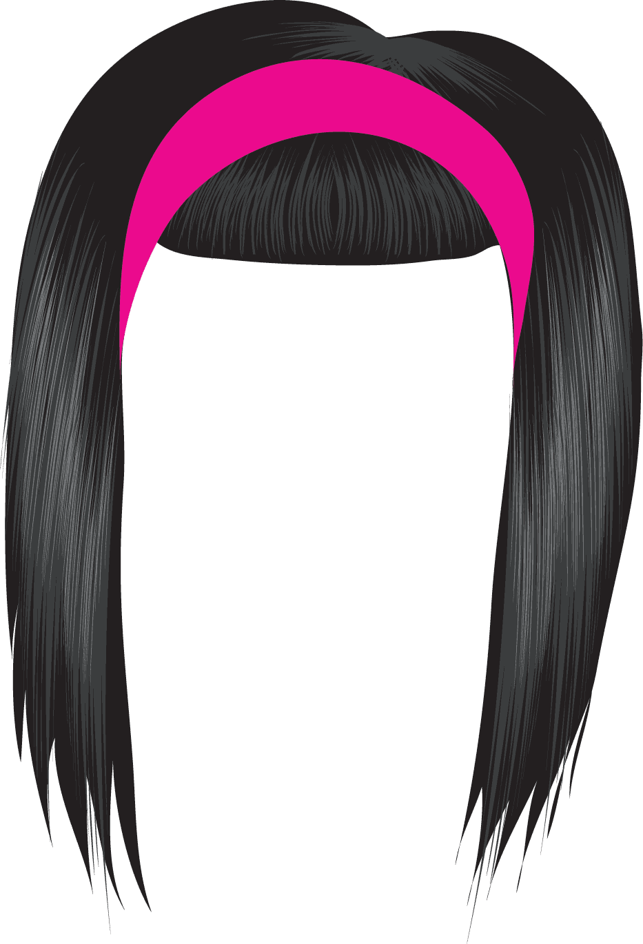 Wig clip fake hair. Wigs clipart clipground