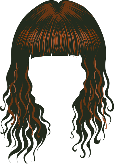 wig clipart png #72878804