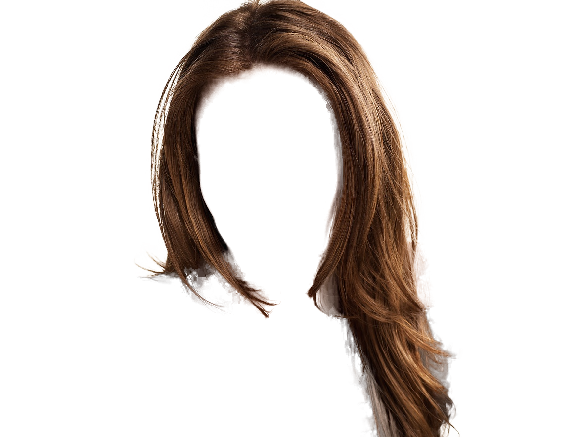 hair with bangs png