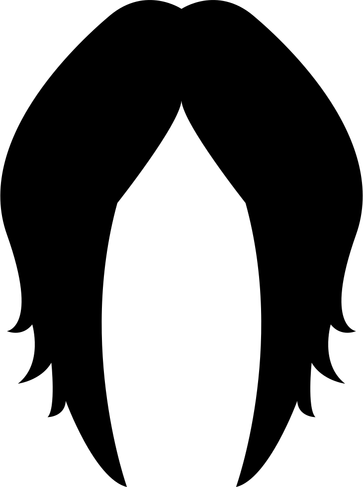 Wig icon png. Female hairstyle svg free