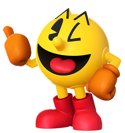 Wii games png. News pac man joins