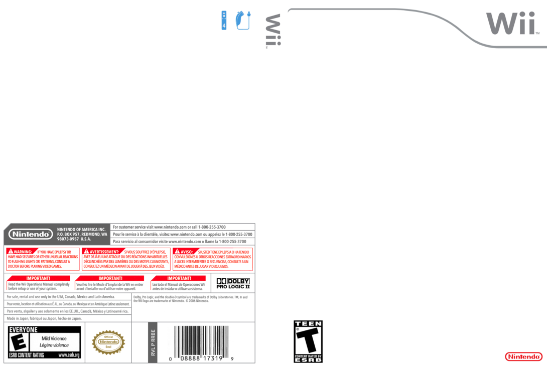 Wii games png. Cover template hi res