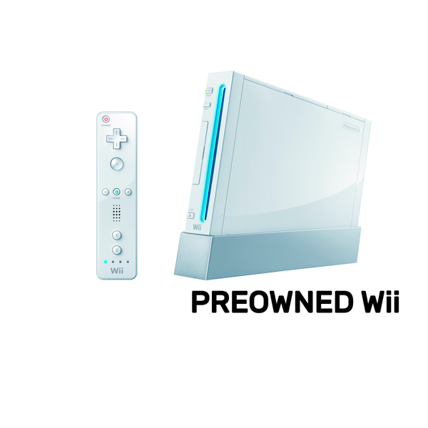 Wii transparent first. Nintendo console refurbished by