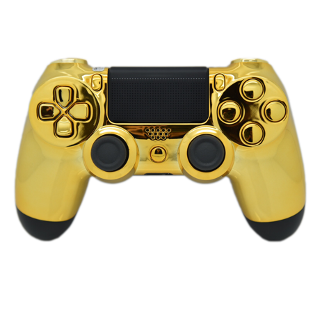 Wii transparent modded. Gold ps rapid fire
