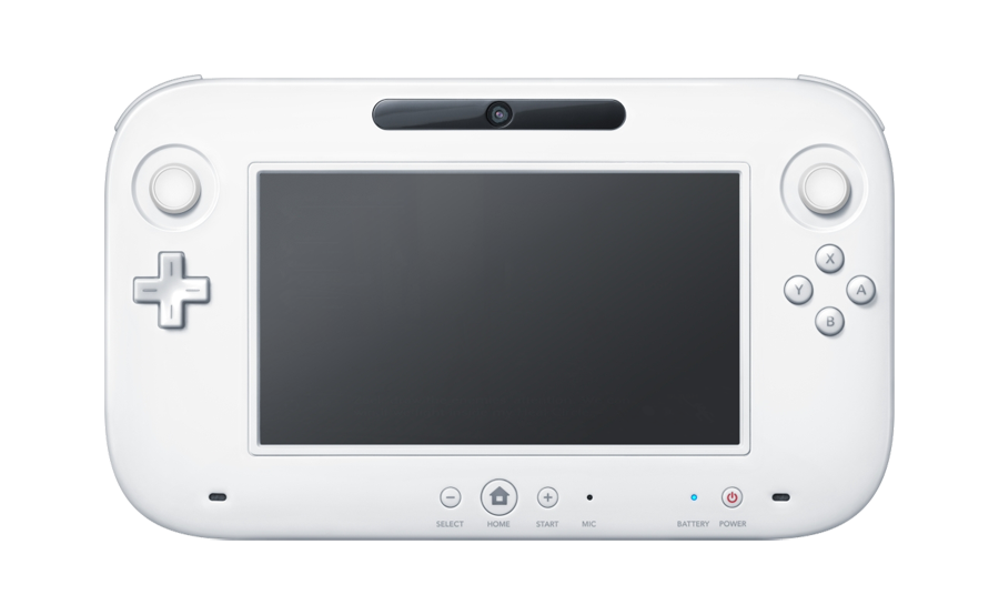 Image old wiiu animal. Wii u controller png clipart black and white stock