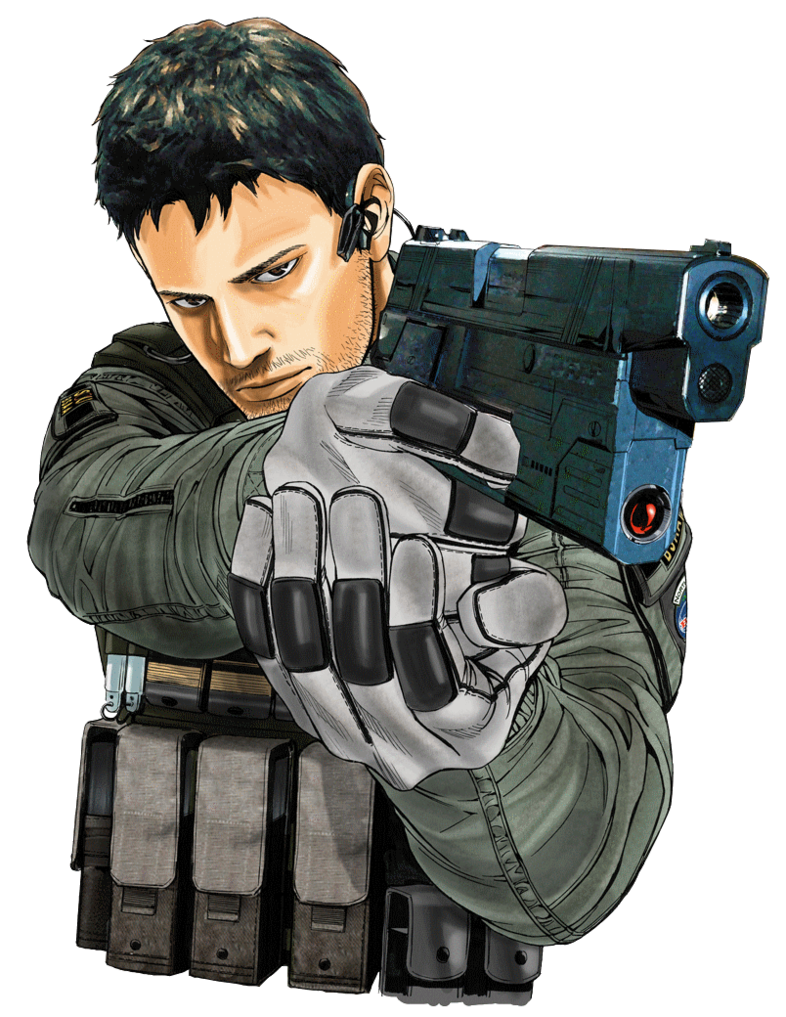 Wiki vector resident evil. Image chris redfield png