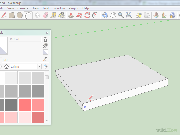 drawing arcs sketchup