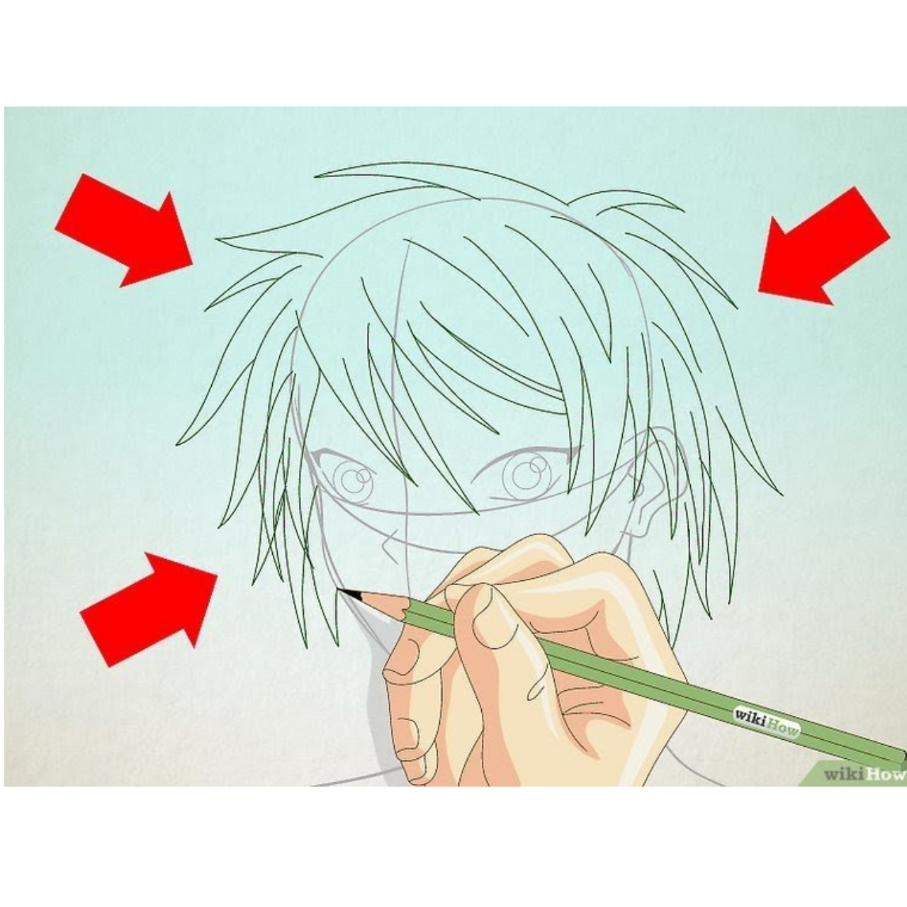 Wikihow drawing. How to draw a