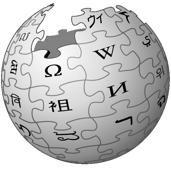 Vector wikipedia icon. Ujep faculty of mechanical