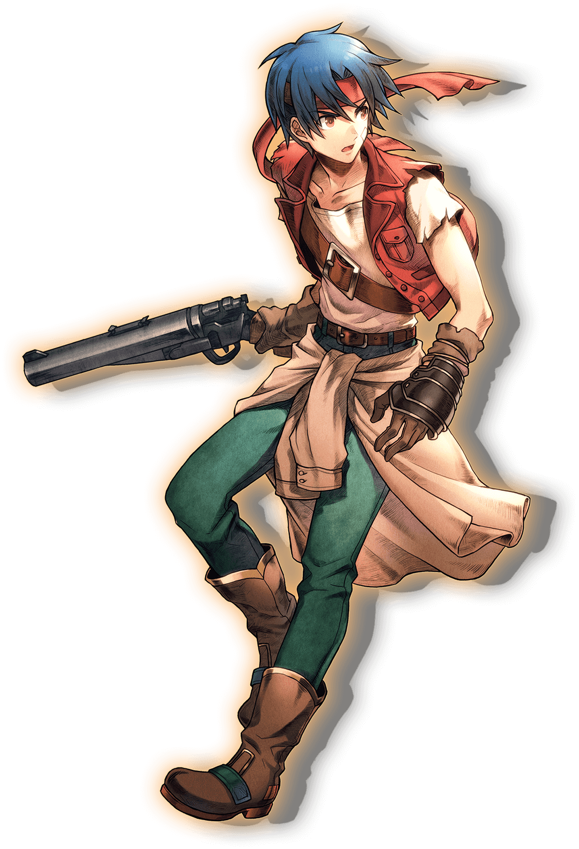 Rudy roughknight wiki fandom. Wild arms 4 jude maverick png vector black and white library
