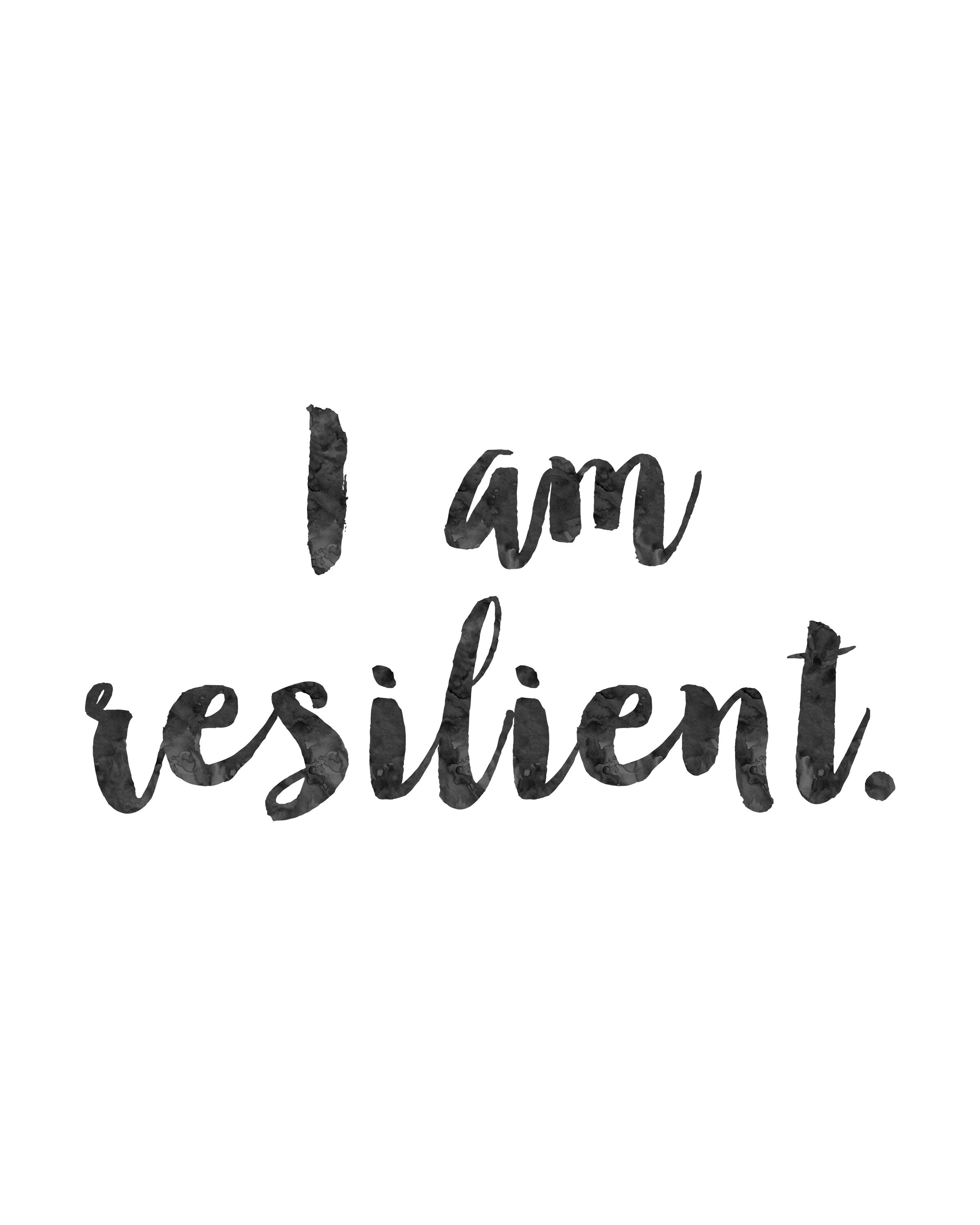 Wild child wild soul quote png. I am resilient inspirational