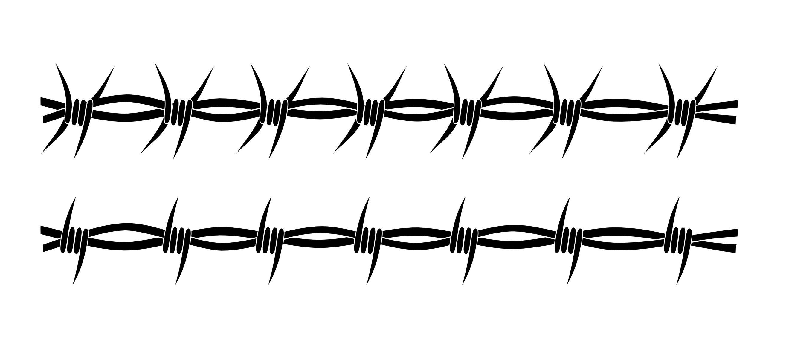 Wild west clipart barbed wire. Barb fence clip art