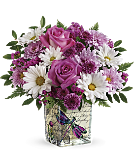 Wildflower bouquet png. In flight le center