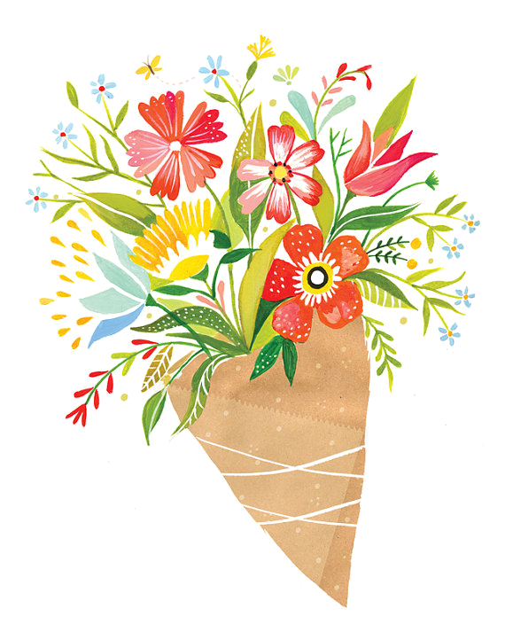 Wildflower bouquet png. Drawing at getdrawings com
