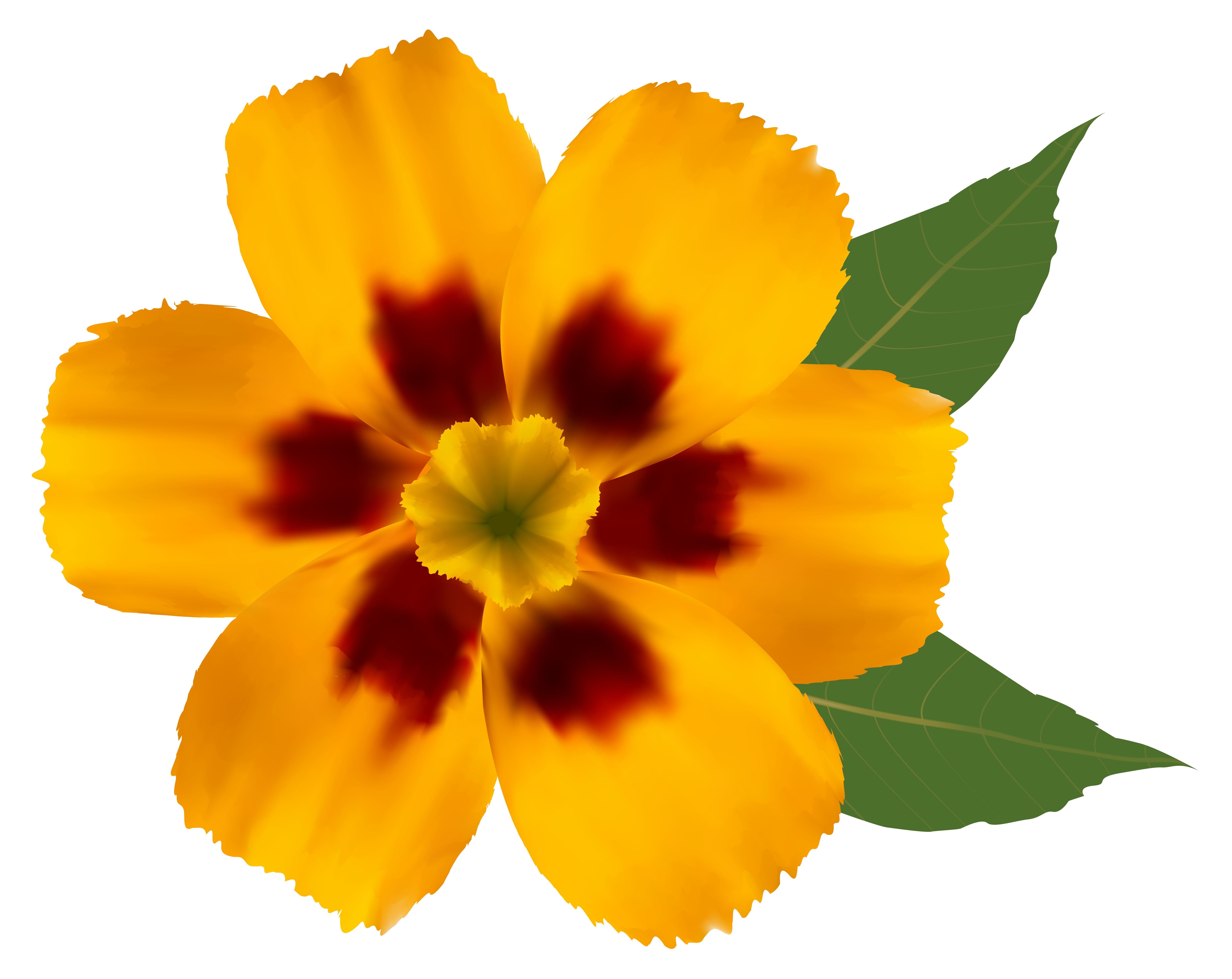 Yellow flowers png. Flower clipart image gallery