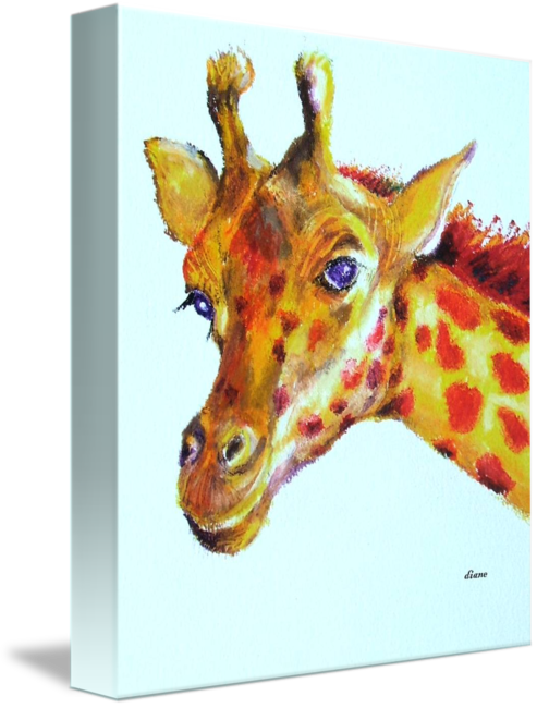 Wildlife drawing oil pastel. Penny plain by diane