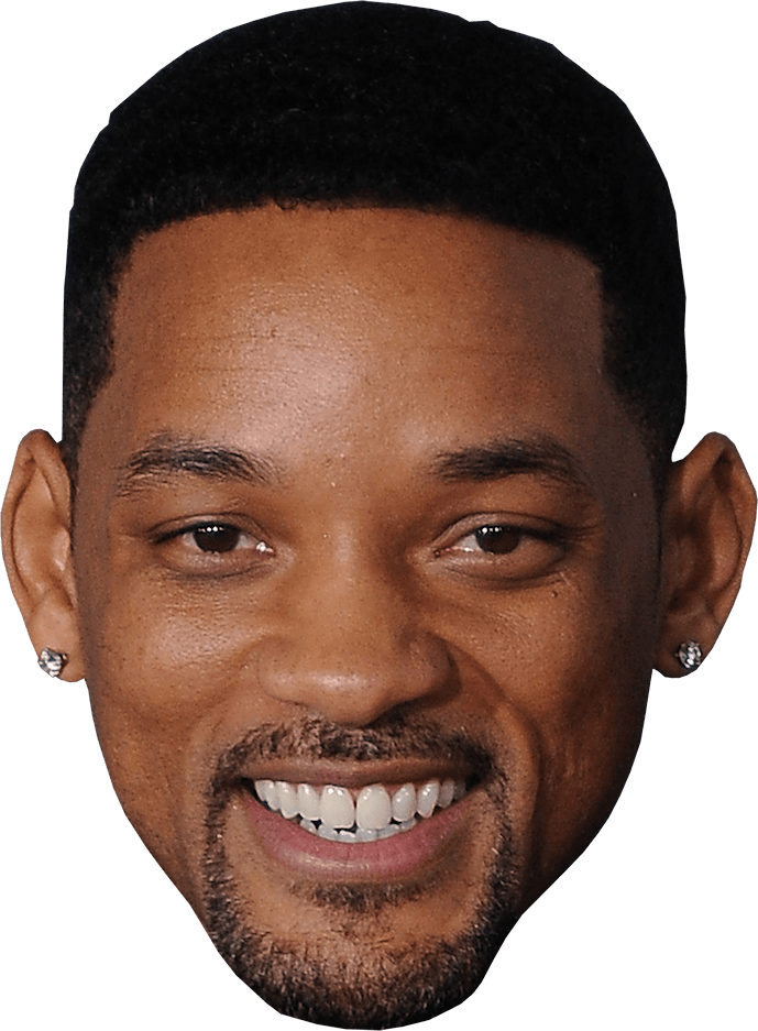 Will smith head png. Face transparent stickpng