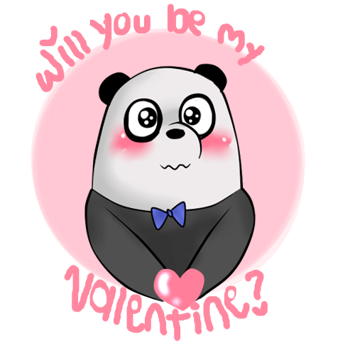 Will you be my valentine png. By megu w on