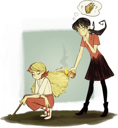 Willow drawing frozen. Don t starve tumblr