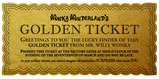 Willy wonka golden ticket png. The easter ball
