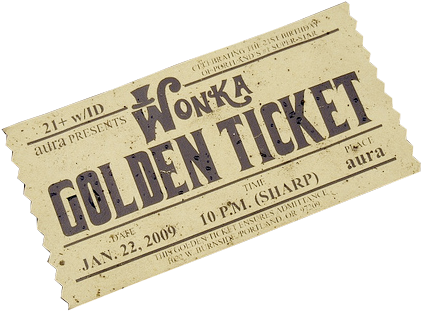 Willy wonka golden ticket png. Download and chocolate image