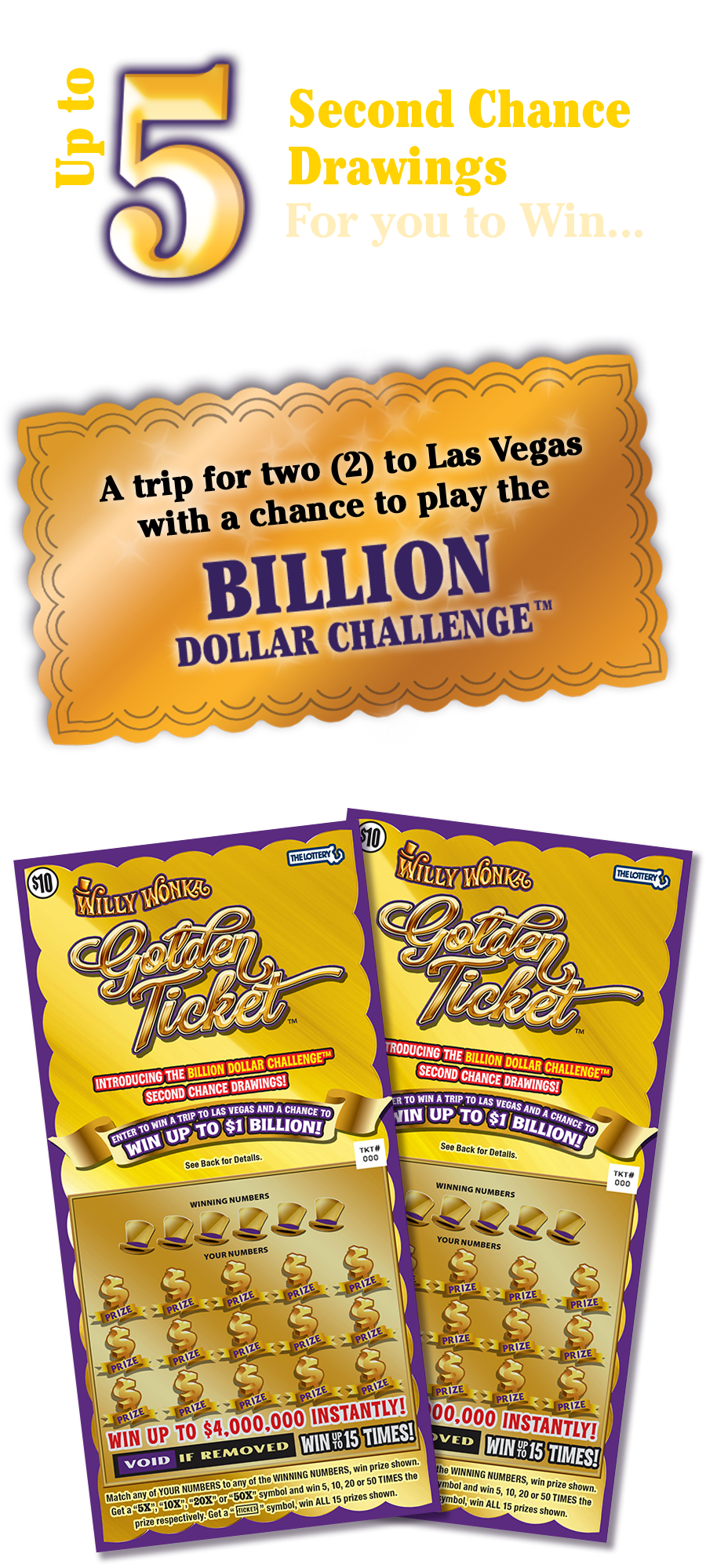 Willy wonka golden ticket png. Prizes ma lottery second