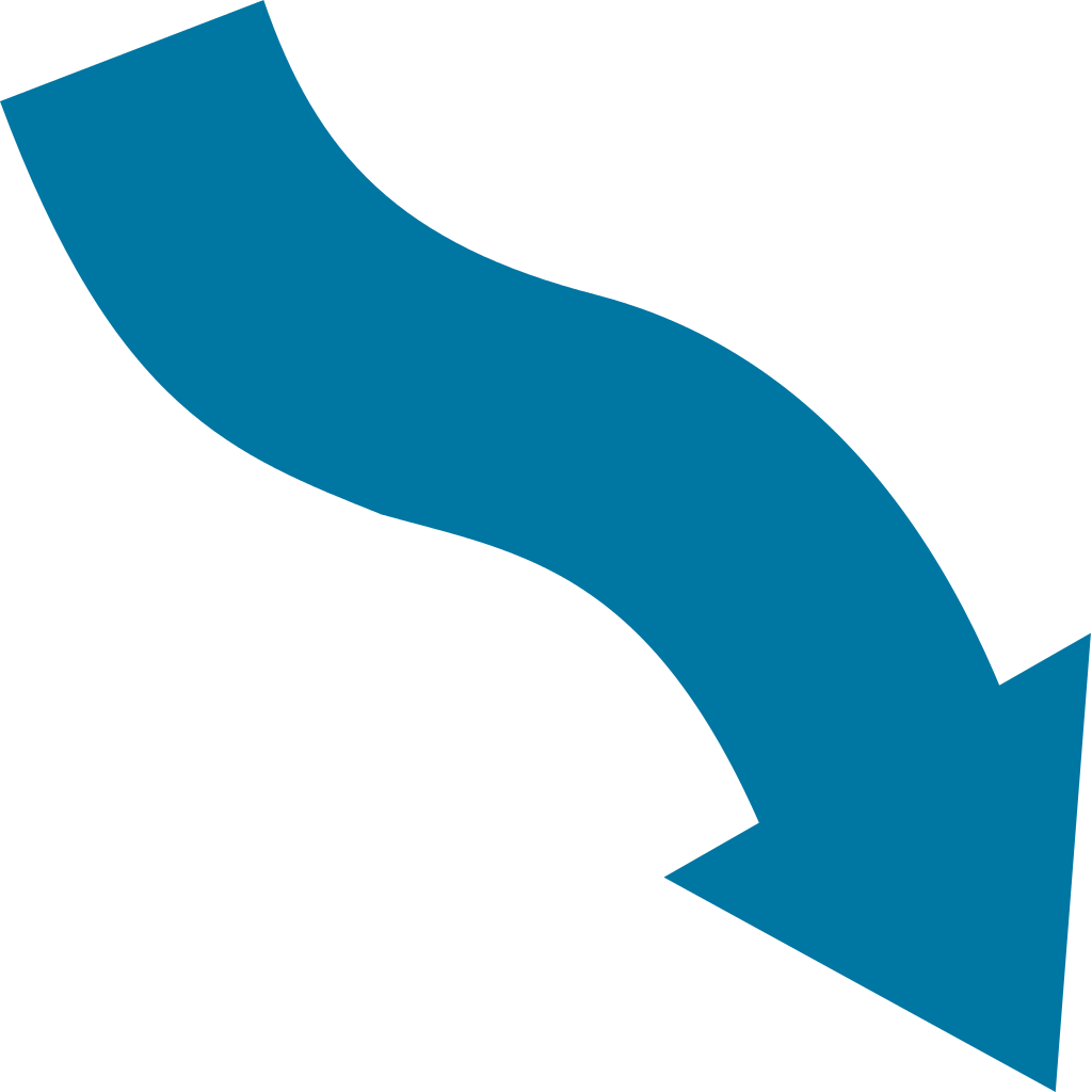 Wind arrow png. File wavy down right