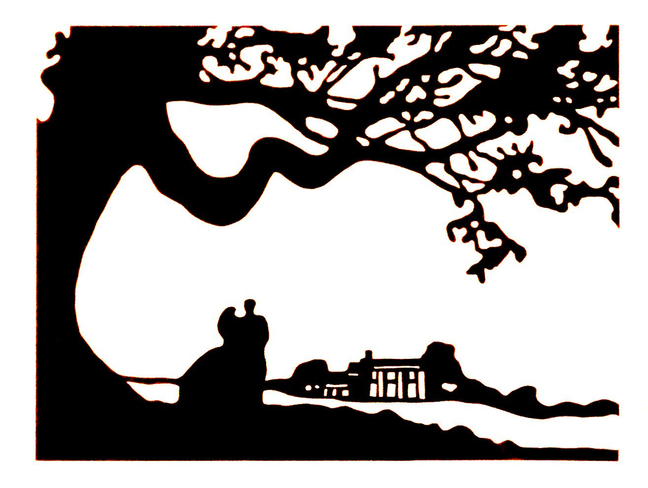Wind clipart tomorrow. Gone with the silhouettes