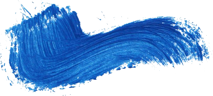Wind streaks png. Blue paint brush