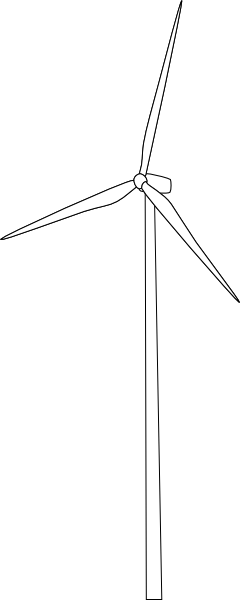 Wind turbine silhouette png. Mygeomatic clip art at