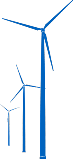 Wind turbine silhouette png. Clipart at getdrawings com
