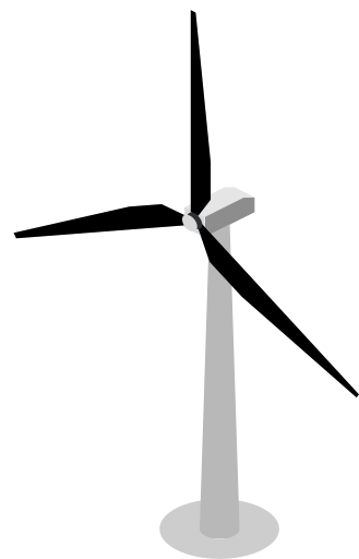 Wind vane png. Turbine engine air power