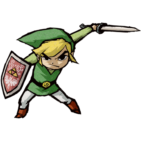 Wind waker hd link png. The legend of zelda