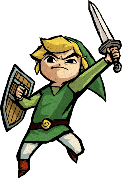 Link wind waker png