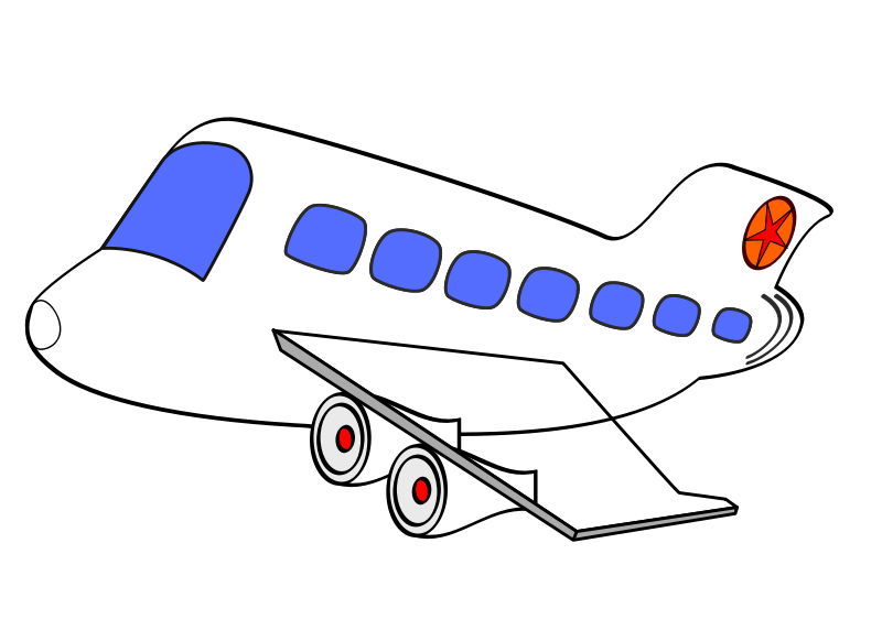 Airplane with banner png. Free clip art funny