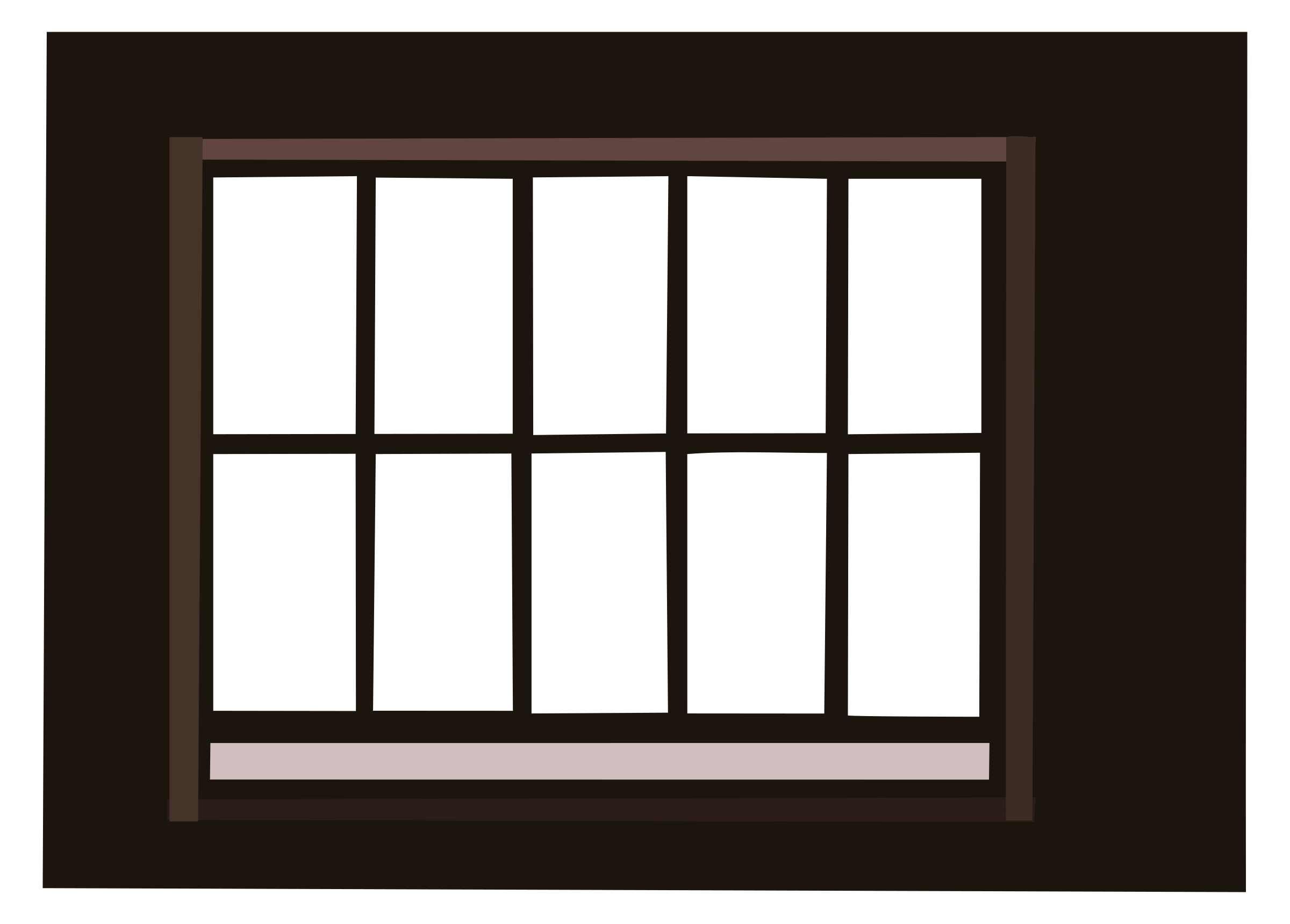 Frame clip window. Clipart with lattice big