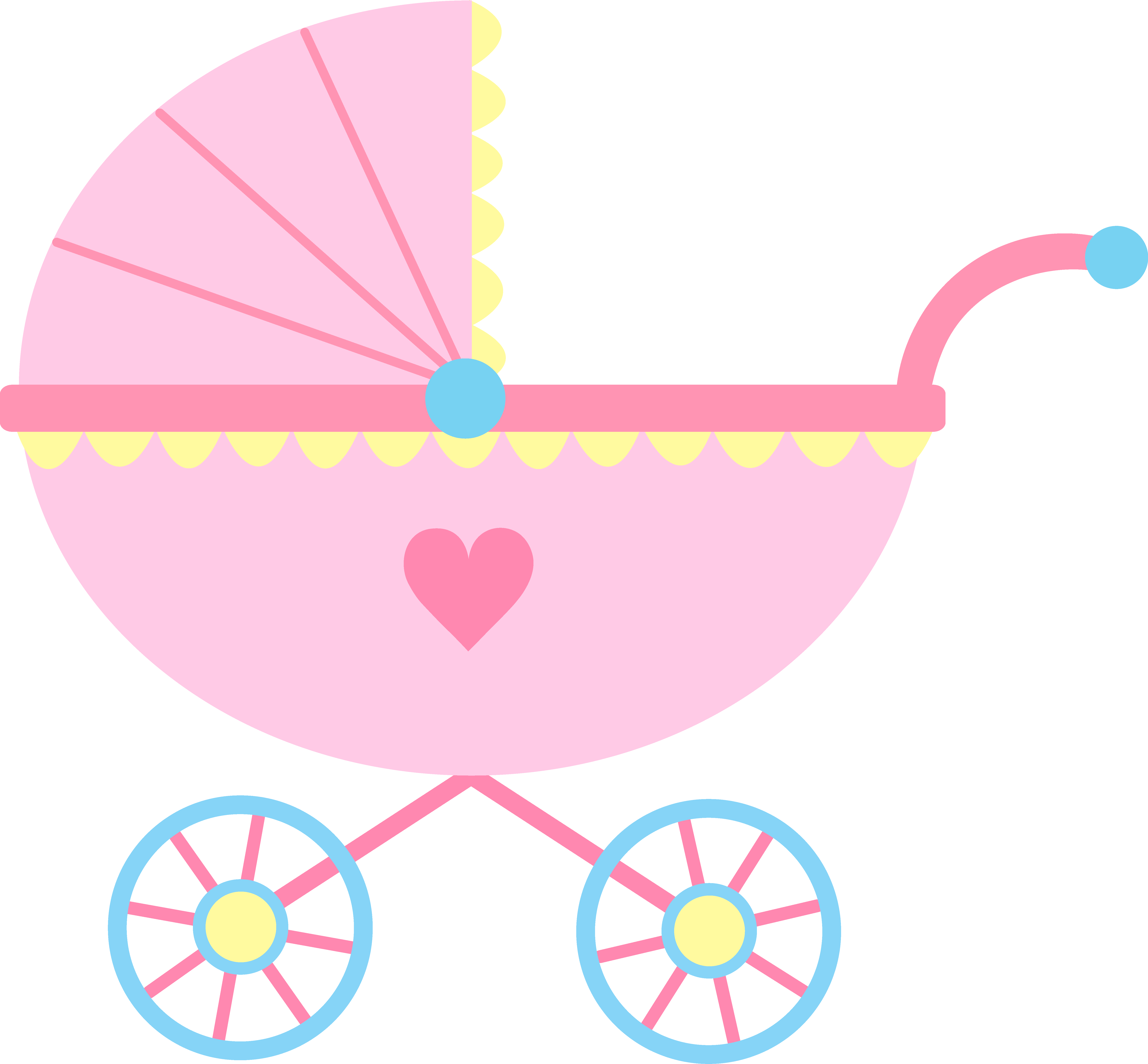 Carriage clipart cinderella theme. Baby shower clear background