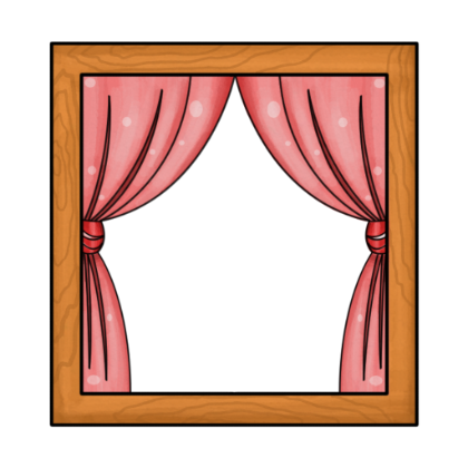 Window clipart pink window. Free square cliparts download