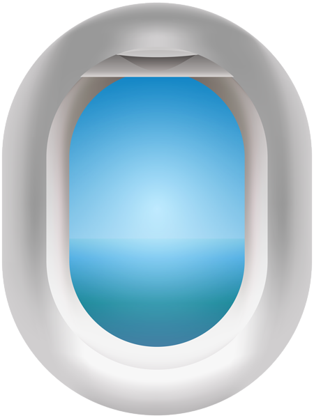 Window clipart png. Airplane clip art image